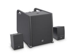 Zvučnički sustav s pojačalom i miksetom CURV 500, Bluetooth (RMS Subwoofer 300W, Array Satellites 2x160W) crni LD system