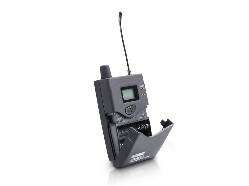Receiver za In-Ear, bežični monitoring sistem, MEI 1000 G2 BPR B 5, 584 – 607 MHz – LD Systems