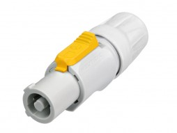 Konektor NAC3FCB, za kabel, strujni konektor, sivi, powercon – Neutrik