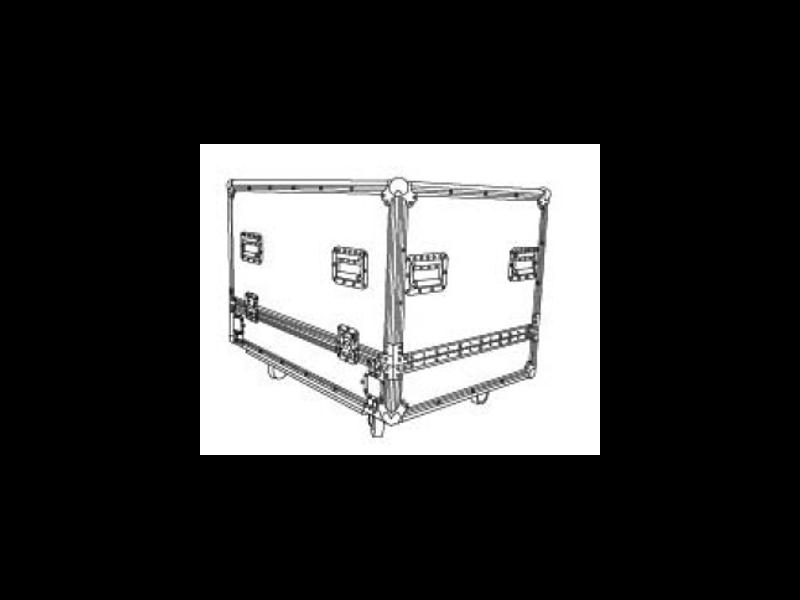 Flightcase za 2 zvučne kutije K-LA28-DSP – Audiocenter