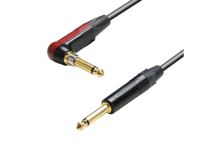 Gotovi kabel mono, So mmer, Neutrik silent plug, kutni-ravni, 3m – Adam Hall