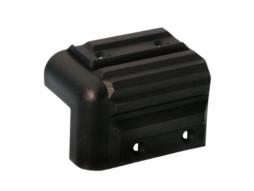 Kutnik plastični, za kabinete, crni 41×57 mm – Adam Hall