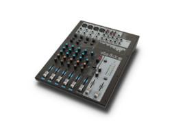 Mikseta, VIBZ8DC, 8 kanala, 4mic + 3 stereo, sliding compressor – LD Systems