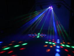 LED efekt MIX332, derby/laser/wash/strobe RGBA – CR