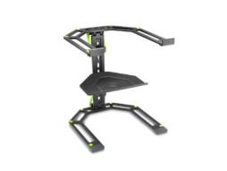 Stalak za laptop i kontroler, prilagodljiv, crni – Gravity