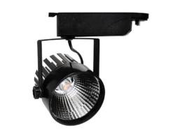 LED unutarnja track lampa  25W COB crno kućište, prirodno bijela – Optonica