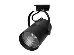 LED unutarnja track lampa  25W COB crno kućište, hladno bijela – Optonica