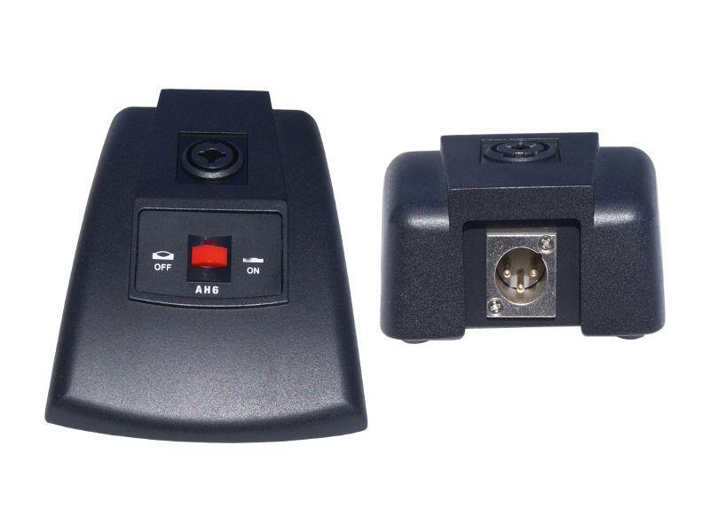 Baza za mikrofon, XLR, sa sklopkom, crna – X-Audio