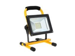 LED prijenosni SMD radni reflektor 10W 4500K prirodna bijela – IP65 vodootporno – Optonica