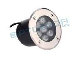LED lampa ugradbena 5W / 220V toplo bijela – IP65 – Optonica