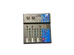 Mikseta 2 mic kanala + 1 stereo line, MP3, display, Delay FX – Tesla