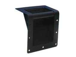 Ručka za ugradnju na rub kutije/case-a, 160x160x90 mm, crna – Adam Hall