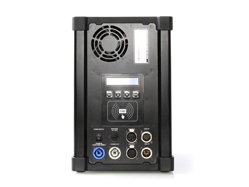 Mašina za prskalice,Visina max 5m, DMX, max 700W, potrošnja praha 14g/min – DJ Power
