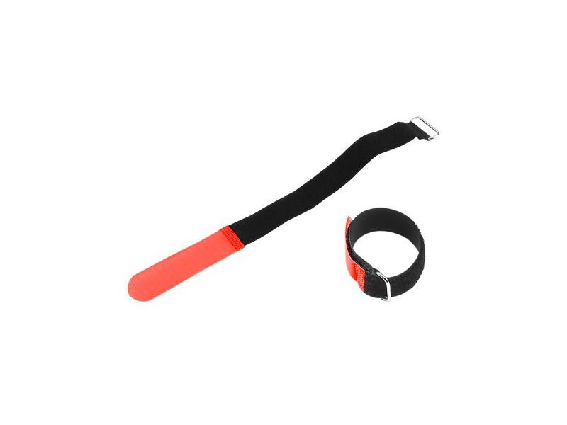 Vezice za kabel na čičak, crvena, 16mm x 160 mm – Adam Hall