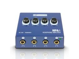 Pojačalo za slušalice, HPA4,  4 kanala – LD Systems