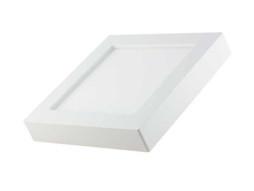 LED panel nadgradni četvrtasti 12W AC165-265V 950LM CCT prilagodljiv intenzitet bijele boje 3000K-6000K – Optonica