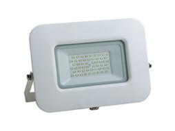 LED SMD radni reflektor bijeli EPISTAR 30W AC170-265V 150° IP65 vodootporno 4500K prirodna bijela 70CM kabel – Optonica