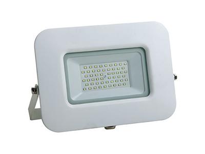 LED SMD radni reflektor bijeli EPISTAR 100W AC170-265V 150° IP65 vodootporno 2800K topla bijela 70CM kabel – Optonica