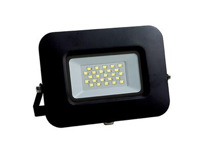 LED SMD radni reflektor crni EPISTAR 20W AC170-265V 150° IP65 vodootporno 4500K prirodna bijela 70CM kabel – Optonica