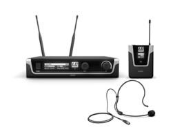 Bežični mikrofonski set s bodypackom i naglavnim mikrofonom 655-679 MHz – LD Systems U506BPH