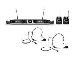 Bežični mikrofonski set s dva bodypacka and dva naglavna mikrofona 1785-1800 MHz – LD Systems U518 BPH 2