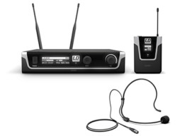 Bežični mikrofonski set s bodypackom i crnim naglavnim mikrofonom 584-608MHz – LD Systems U505 BPH