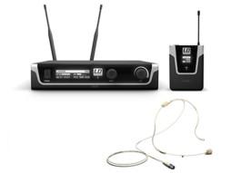 Bežični mikrofonski set s bodypackom i bež naglavnim mikrofonom 584-608MHz – LD Systems U505 BPHH