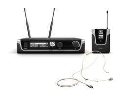 Bežični mikrofonski set s bodypackom i bež naglavnim mikrofonom 655-679MHz – LD Systems U506 BPHH