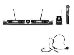 Bežični mikrofonski set s bodypackom, naglavnim mikrofonom i dinamičkim ručnim mikrofonom 584-608MHz – LD Systems U505 HBH 2