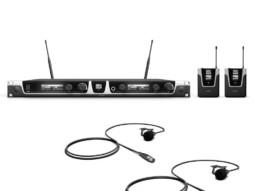 Bežični mikrofonski set s bodypackom, naglavnim mikrofonom i dinamičkim ručnim mikrofonom 1785-1800MHz – LD Systems U518 HBH 2