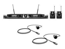 Bežični mikrofonski set s dva bodypacka i dva bubica mikrofona 655-679MHz – LD Systems U506 BPL 2