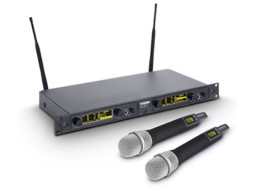 Bežični mikrofonski set s dva kondenzatorska ručna mikrofona 516-558MHz – LD Systems WIN 42 HHC 2 B 5