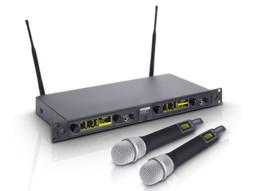 Bežični mikrofonski set s dva dinamička ručna mikrofona 734-776MHz – LD Systems WIN 42 HHD 2