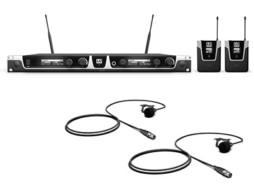 Bežični mikrofonski set s dva bodypacka i dva bubica mikrofona 584-608MHz – LD Systems U505 BPL 2