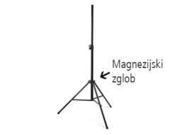 Stalak za zvučnik NBOX-4 s magnezijskim zglobom, nosivost 40kg – Athletic