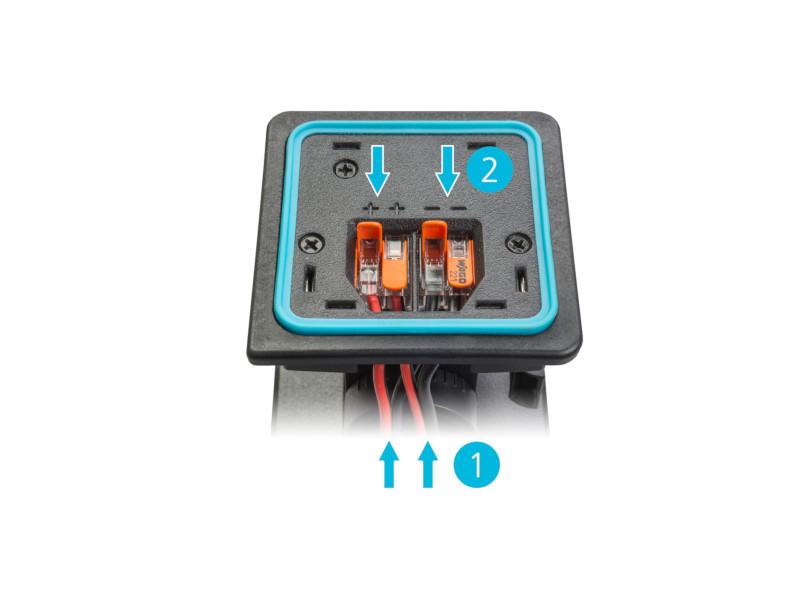Nadgradni zvučnik crni, 6,5″, 150W 16Ohm/70V/100V, vododotporan IP64 – Apart