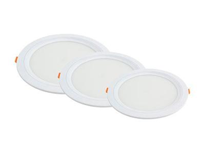LED panel ugradbeni okrugli 6W AC95-265V 375LM hladno bijela 6000K City line – Optonica