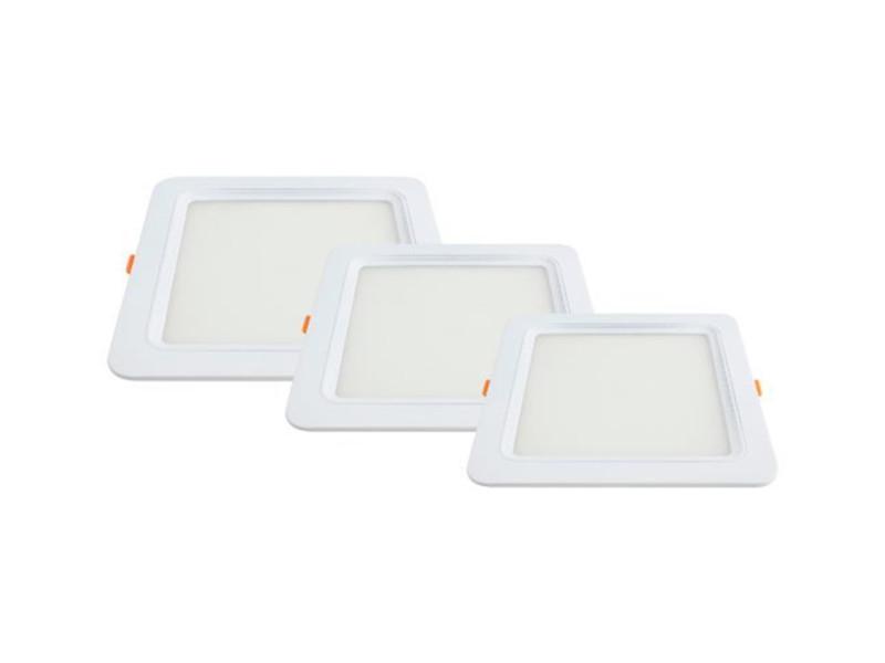 LED panel ugradbeni četvrtasti 6W AC95-265V 375LM prirodno bijela 4500K City line – Optonica