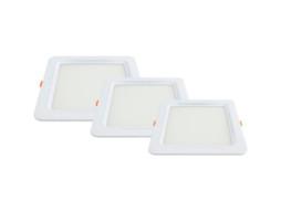 LED panel ugradbeni četvrtasti 6W AC95-265V 375LM toplo bijela 2700K City line – Optonica