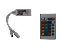 WiFi kontroler za led traku 9-28V 192W + RF daljinski upravljač – DDO