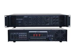 Pojačalo, 100 V, 350 W, 6 zona s potenciometrima za regulaciju – X-Audio