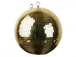 Kugla s ogledalima, 30 cm, zlatna – Showtec