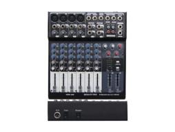 Mikser MM-8S, 4 XLR + 2 stereo kanala – X-Audio