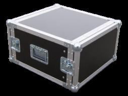 """Flightcase kofer 19"""" rack, 6 U, PRO, 9mm šperploča"""
