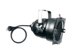 Reflektor Par56, crni, kratki, s kablom i šuko utikačem – Showtec