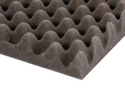 Spužva za rack Eggbox, siva, debljina 50 mm, 2x1m – Adam Hall