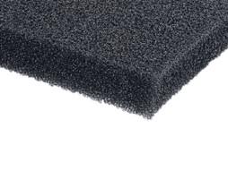 Prednja spužva za zvučnu kutiju, crna, 2x1m, debljina 5mm – Adam Hall