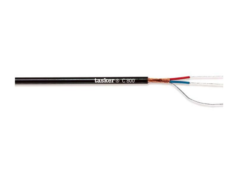 Kabel digitalni, Extra flex AES-EBU 110Ohm, crni 4,4mm – Tasker