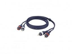 Kabel, gotovi, 2 RCA muški/2 RCA ženski, Line/Instrument, 0,75 m – DAP