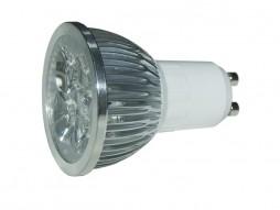 LED žarulja GU10 4x1W 220V, hladna bijela – Epistar